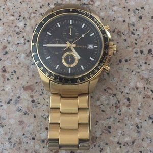 Express gold watch